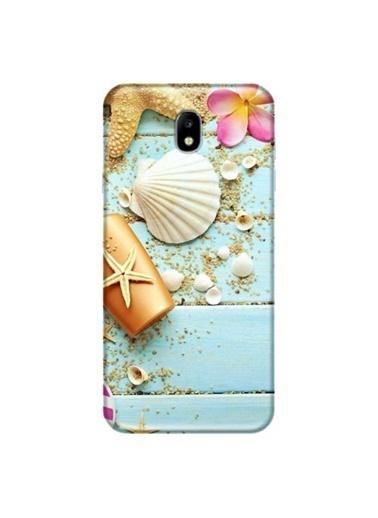 People's Cover Galaxy J7 Pro Baskılı Telefon Kılıfı Renkli